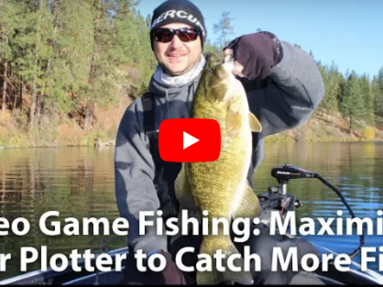 "Maximize Your Plotter to Catch More Fish VIDEO - Master the art of ""Video Game Fishing"" using your Navionics map cards and sonar unit. Go from seeing marks on your screen to hauling big bass into your boat with these useful tips."