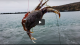 Crab snaring off the Jetti in Bodega Bay VIDEO