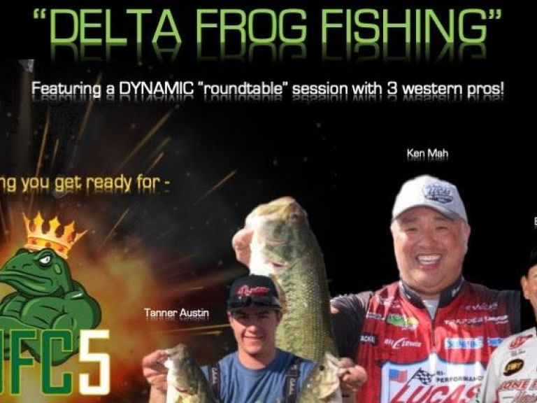 Delta Frog Round Table | Can't Miss Event! - Choosing best color selections - Making modifications (trim or not to trim) - Rod and line choices - Adjusting to high and low tide conditions | Freebies and Raffle