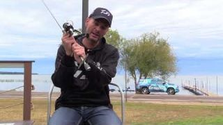 Randy Howell's Shakey Head Underspin Rod