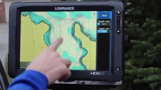 Electronics How-To | Lowrance Depth Shading with a Navionics Card
