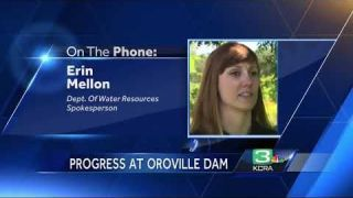 Oroville Dam spillway reconstruction expected to end before rainy season