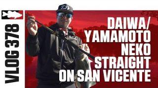 Brent Ehrler Fishing the Daiwa x Yamamoto Neko Straight on San Vicente