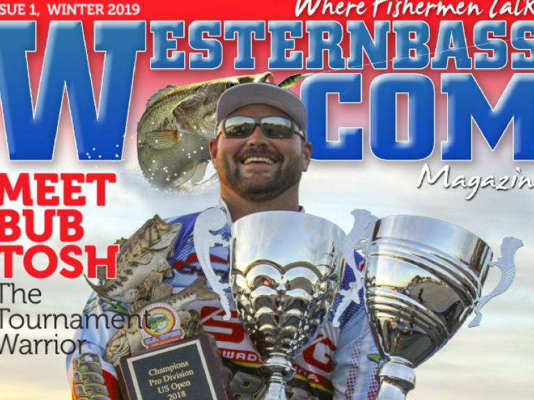 2019 Winter Bass Fishing | Click for WesternBass.com Magazine - No subscriptions, no fees, no memberships | It's free to click and read and it's available NOW! Winter Issue live today!