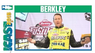 Berkley Powebait Products with Elite Series Pro Skeet Reese | ICAST 2015