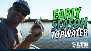 Tackle How-To: Early Topwater #LTB