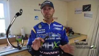 Brandon Lester on the Mustad Grip Pin for Bass Fishing