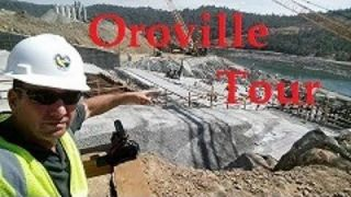 Oroville Spillway Construction Tour 24 Aug. Part I