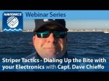 Navionics Webinar | Striper Tactics | Dialing Up the Bite with your Electronics