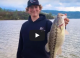 Fat Winter Spotted Bass in Muddy Water VIDEO