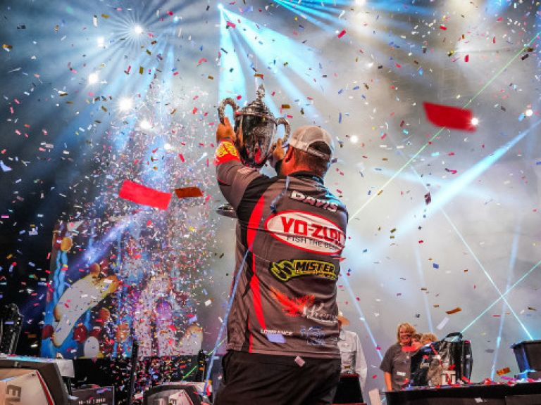 "CONGRATS YO-ZURI PRO CLENT DAVIS FOR THE 2018 FORREST WOOD CUP WIN | FINAL RESULTS - I don't believe that I just won this,"" said Davis, a former FLW College Fishing standout for the University of Montevallo. ""I almost walked away from professional bass fishing last year. I was burned out on fishing. I sold all of my gear – my boat, all of my rods, my reels, every piece of equipment that I had. It wasn't from failure, it was because I was burned out"