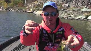 "Finesse Fishing Smallmouth Bass- 3"" Reins bubbling shakers"