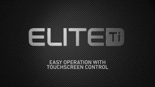 Lowrance Elite Ti - Easy Operation with Touchscreen Control