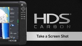 Lowrance How-To | HDS Carbon Taking a Screen Shot