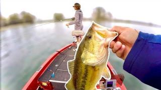 Searching For BIG BASS Up Shallow