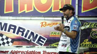Bass Fishing Seminar | Byron Velvick | Big Swimbaits Are LIke Big Baitfish | Bass-A-Thon Part 1