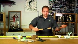 How-To Build a Fishing Rod: Chapter 3 - Set the Handle