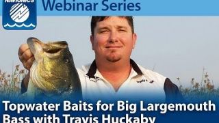 Navionics Webinar | Topwater Baits for Largemouth Bass
