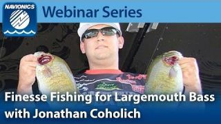 Navionics Webinar | Finesse Fishing For Bass with Jonathan Coholich
