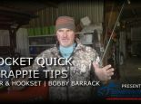 Most Effective Gear and Hookset | Crappie Fishing with Bobby Barrack |