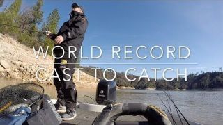 World Record Spotted Bass 11lb 4oz Cast To Catch - Nick Dulleck