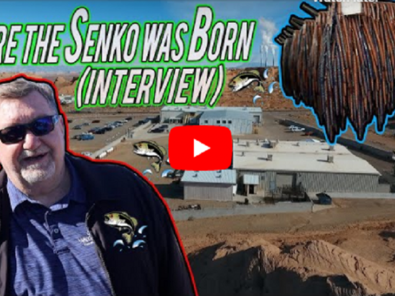 Where the Senko was Born! VIDEO - This guy has been working for the Yamamoto factory since 1986