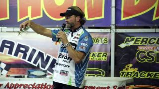 Bass Fishing Seminar | Byron Velvick | Why Bigger Swimbaits | Bass-A-Thon | Part 2