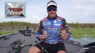 Braided Line for Bass Fishing with Scott Martin #P-Line X Braid