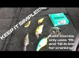 When to use mono for crankin and other crankbait line tips | Super Quick Vid