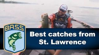 Best Bass Catches | Elite Series St. Lawrence KVD, JVD, Ehrler, Palaniuk and Mosley