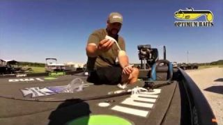 "How-to rig an Optimum Victory Tail  for deep ledge fishing with Fred ""Boom Boom"" Roumbanis"