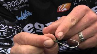Knot How-to:  Snell Knot with Aaron Martens #Tackle Warehouse