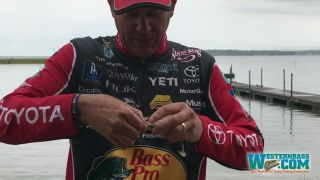 Kevin VanDam Swimbait Rigging | Belly Weight Placement #Mustad
