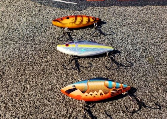 #4 Clear Water Rat-L-Trap Options