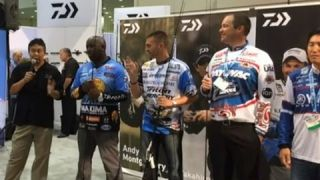 Daiwa Press Conference New Products