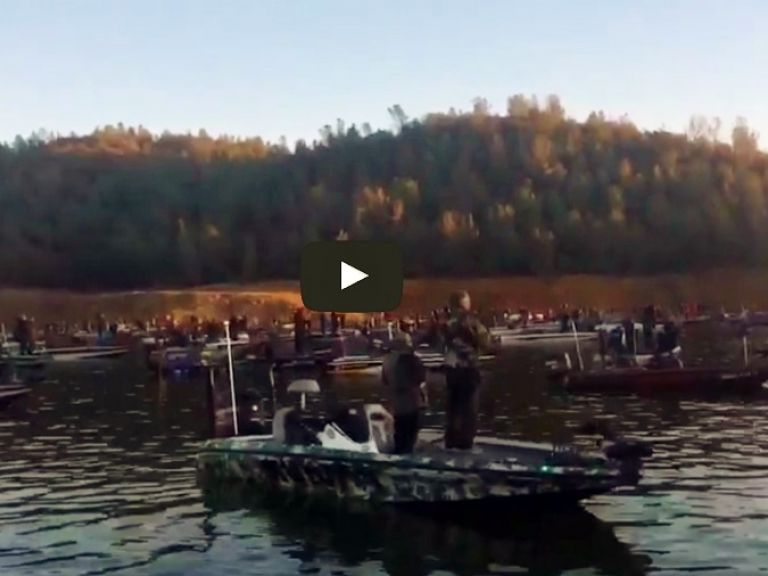 Wild West Bass Trail Blasts Off 167 Boats at Oroville (Video) - WWBT California Teams Season-Opener blasts off today with record attendance at Lake Oroville