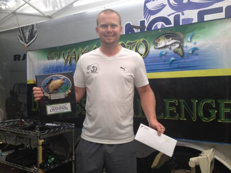Hellesen Claims 3 Top-Spots, 5 Cashes, Big Bass and the Grand Prize of the 2017 Yamamoto Big Bass Challenge - Following recent extreme weather conditions coupled with slow and low summer season tournament fishing, the 7th annual Yamamoto Big Bass Challenge took to the tidal waters of the California Delta ready for a battle.