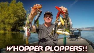 Whopper Plopper Tricks with EPIC Underwater Footage!