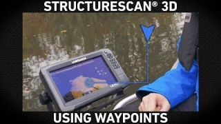 Lowrance How-To | Using Waypoints on StructureScan 3D
