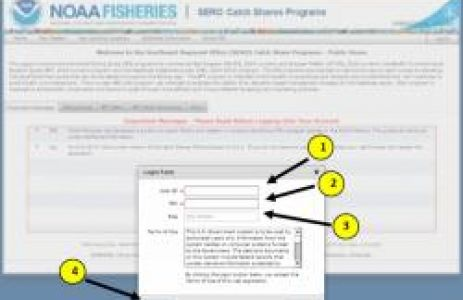 NOAA Fisheries Enhances Catch Shares Online System