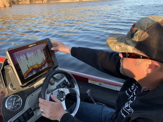 How New Lowrance Electronics have Changed Winter Fishing