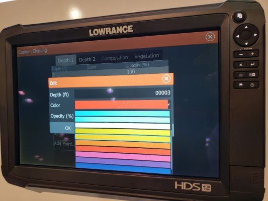New from Lowrance | Free Updates, Depth Shading, Color
