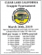 100% PAYOUT!! Clear Lake Crappie Tournament Coming in March