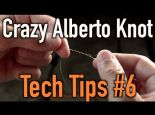 How to Tie Braided Line to Flurocarbon OR Monofilament | Crazy Alberto Knot