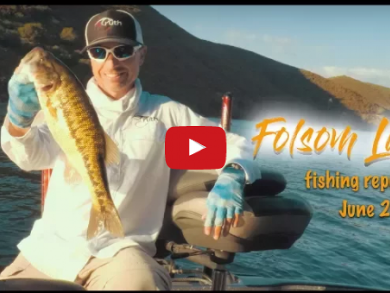 Video Fishing Report | Folsom Lake - I went out 3 days last week (twice in the evening during the week and in the morning on Sunday) to Folsom Lake. Here is the report...