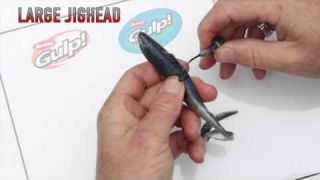 Rigging How-To | Soft Plastics on Large Jigheads