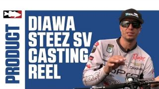 Daiwa Steez SV Casting Reel with Brent Ehrler