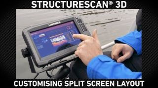 Lowrance How-To | Setting Up Custom Split Screens on StructureScan 3D