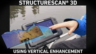 Lowrance How-To | Vertical Enhancement on StructureScan 3D