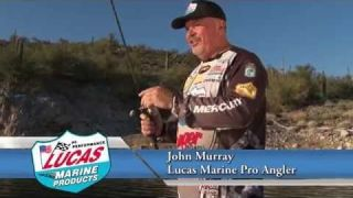 Lucas Marine Pro Bass Angler John Murray uses Lucas Reel Oil